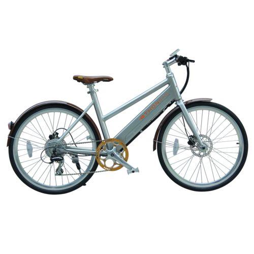 E-Bike 26 Zoll - Urban Queen Brown